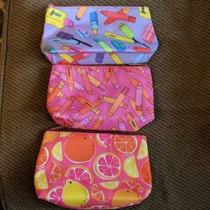 3 new Clinique Cosmetic bags